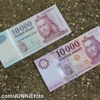 Az új tízezres papírpénz forint 2014