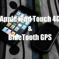 Apple iPod Touch 4G & BlueTooth GPS