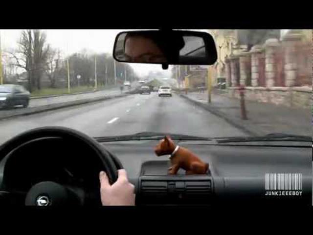 Timelapse Kocsikázás az M7-esen (2012.December) FullHD 1080p