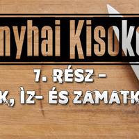 Konyhai kisokos 7. - Alaplevek, íz- és zamatkivonatok