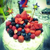 Cukormentes szülinapi torta (nemcsak) kétéveseknek