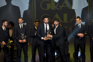 Kiosztották az olasz foci Oscar-díjait