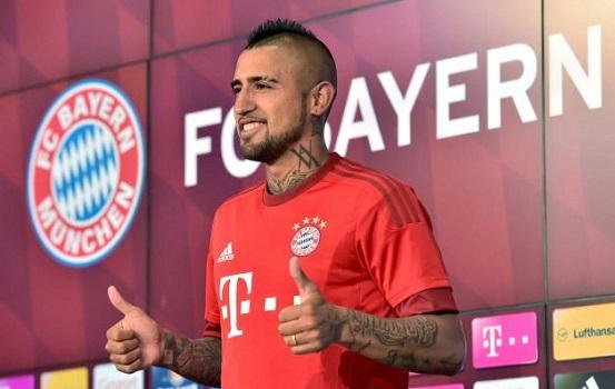 Hivatalos: Vidal a Bayern játékosa
