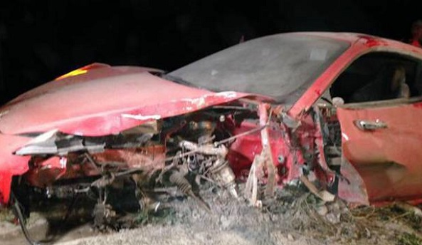Vidal autóbalesetet szenvedett