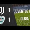 Serie C: Juventus U23 - Olbia 1:1