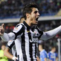 """Morata: """"Boldog vagyok Torinóban"""""""