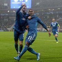 Játékosok a Lokomotiv Moszkva elleni győzelemről