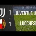 Serie C: Juventus U23 - Lucchese 1:1