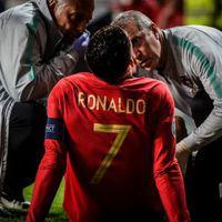 Ronaldo megsérült a portugál válogatottnál