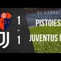 Serie C: Pistoiese - Juventus U23 1:1