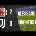 Serie C: Alessandria - Juventus U23 2:0