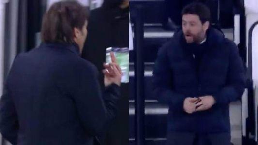 Agnelli-Conte csörtét hozott a Juve-Inter kupamérkőzés