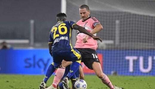Bonucci sérülése nem bizonyult súlyosnak