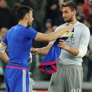 """Buffon: """"Donnarumma lehet az utódom"""""""