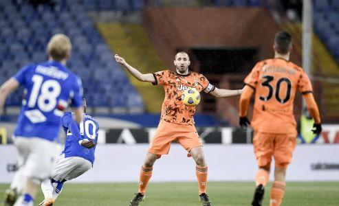 Játékosok a Sampdoria elleni győzelemről