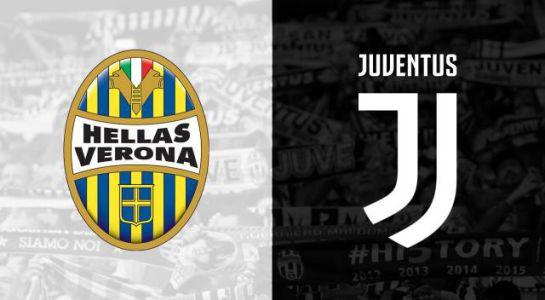 Hellas Verona-Juventus: a várható kezdőcsapatok