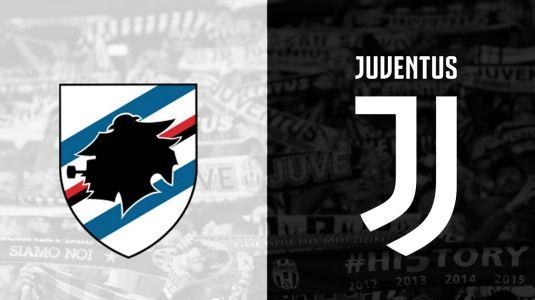 Sampdoria-Juventus: a várható kezdőcsapatok