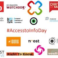 Európai átláthatóság-párti civilek közleménye az információszabadság első hivatalos világnapján!