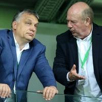 Magángéppel szaladt ki a Vidi BL-meccsére Orbán Viktor