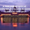 The language of the Hungarian Parliament (1990-2017)