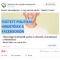 Titkos fegyverrel került pariba az ellenzék a kormánnyal a Facebookon