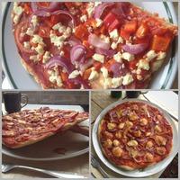 Pizzarecept, amiőből csak az olasz levegő és a Mamma keze munkája hiányzik...