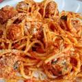Paradicsomos húsgombócok spagettivel, egy ráérős pünkösdhétfőre