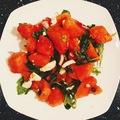 Fetás-rukkolás dinnyesaláta - a pikáns vacsora
