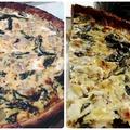 Finom és egészséges: Spenótos-kecskesajtos quiche teljes kiörlésű tásztával