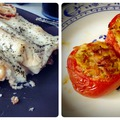 Vega finomságok a sütőből: Paradicsomos-cukkinis canelloni és pestos rizzsel töltött mozzarellás paradicsomok