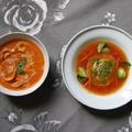 Leves párbaj - tortellinis paradicsom krémleves