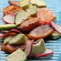Répa, retek... avokádó saláta