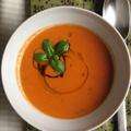 Balzsamecetes sült paradicsom leves