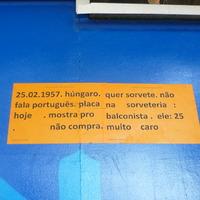 Művészet, magyar imigráns São Paulo belvárosában