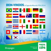 Brazília köszönti a világbajnokság 32 résztvevő nemzetét