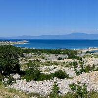 Körbe a Krk szigeten