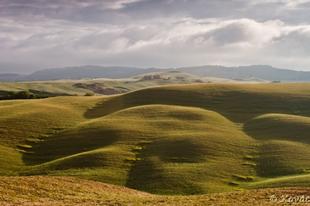 Toszkán tájakon 1. - A zöld lankák birodalmában