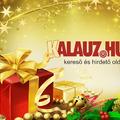 Kellemes Karácsonyt és Boldog Új Évet kívánunk!