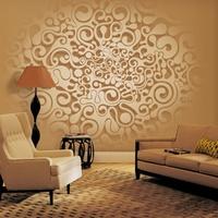 Freskóhatású faldekor a lakásba