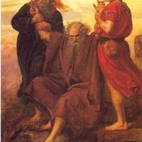 Mózes karja végül is elfáradt