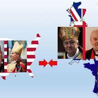 A megbékélés gesztusai Európában, sértő nyilatkozatok az USA-ban