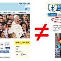 Ferenc pápa levelét félrefordították - kiegészítve