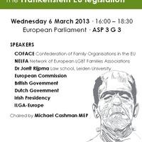 LMBT családok az EU-ban – EP szeminárium