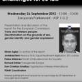 EP szeminárium: Transz- és interszex emberek – Kihívások az EU jogalkotóinak