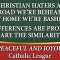 A katolikus szélsőjobb karácsonyi üzenete