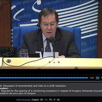 Zajlik a vita az Európa Tanács Parlamenti Közgyűlésében - Frissítve!
