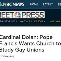 A pápa a meleg párkapcsolatok tanulmányozását kérte - Kiegészítve