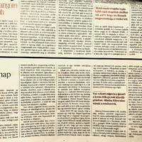 Halál vasárnap - tárca, Magyar Nemzet Magazin, április 7.