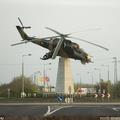 Mi-24 emlékmű - Szolnok