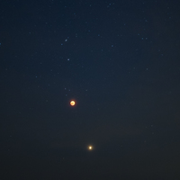 Vérholdfogyatkozás és a vörös Mars bolygó